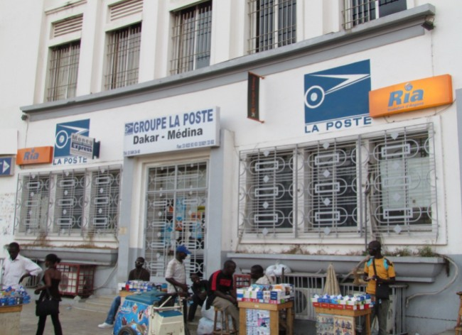 Senegal's La Poste was the first Post office to become a Ria's partner